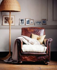 chair & lamp