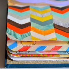 Dispatchfromla.com visual journal #art #journal patterns