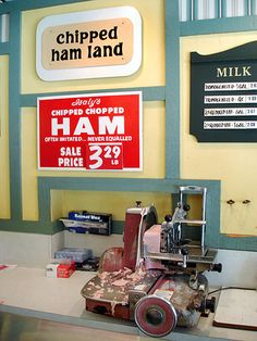 Inside Isaly's.  Chipped ham was the best. Nobody can do it like Isaly's.