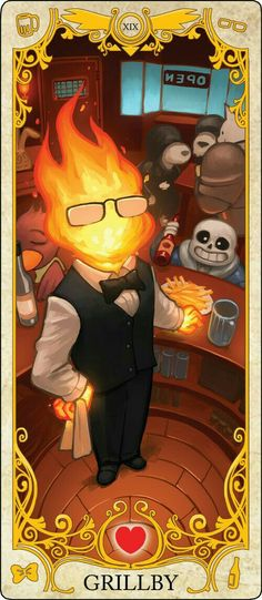 Grillby's will always be the best #GoodParenting