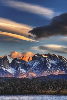 Torres del Paine National Park, Chile | Peter Hammer  ❤~✿Ophashionista✿~❤