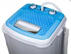 Portable Compact Washer Washing Machine with Spin Dry 8.5 LB Cap