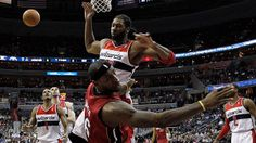 Nene blocks, dunks on LeBron James