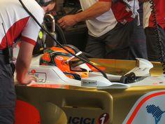 F1 car test