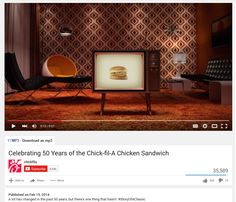 "15. One avenue Chick-fil-A uses to sustain loyalty and to keep target consumers like Alex engaged is through creative ad campaigns.  While the ""Eat Mor Chikin"" initiative had a humor appeal to it, this campaign has a deeper emotional connection.  It talks about how much the world has changed in 50 years (showing images of furniture from different eras), but how the chicken sandwich has been one constant.  This sense of reliability and availability is something that stays in a consumer's…"