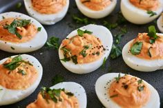 Browse hundreds of simple but healthy recipes perfect for dinner with the family. Feel good food you can feel confident in serving to your loved ones has never been easier! Healthy Living Recipes, Vegetarian Recipes, Clean Eating Vegetarian, Roasted Red Peppers, Low Carb Breakfast, Deviled Eggs, Appetizer Recipes, Appetizers, Healthy Treats