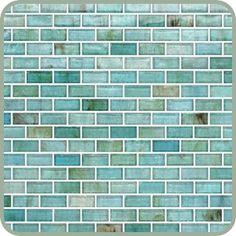 Recycled backsplash tile