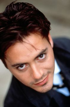 Robert Downey Jr, 1991 and he only got better looking with age.