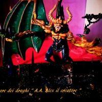 """Saturn by Elisa Ercoli on SoundCloud.Foto di Andrea Alderighi. Modello modificato da Alex il creatore. Pittura di Andrea Alderighi. """" Il signore dei draghi""""."""