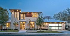 Modern exterior design, pictures, remodeling, decor and ideas – Page 15 - Modern Architecture Modern Exterior, Exterior Design, Roof Design, Style At Home, Country Modern Home, French Country, Luxury Homes Dream Houses, Dream Homes, New Home Builders