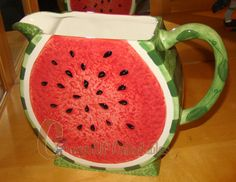 64 oz. Watermelon Pitcher (Outside BBQ Collection)