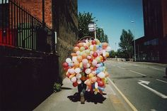 awkward bunches of balloons