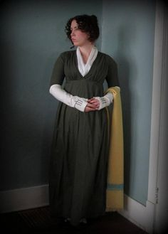 Romantic History: The Re-Made Regency Gown