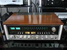 Sansui-9090DB. A receiver worth coveting for its brute power and warm sound.