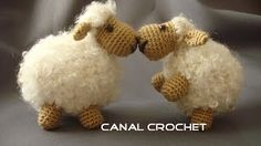 crochet sheep - YouTube