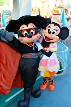 On select nights in September and October the Disneyland park in California host Mickey's Halloween Party!