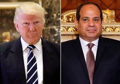 "Friendly phone calls, an invite to the White House, a focus on Islamic militancy and what Donald Trump called ""chemistry"" have set the tone for a new era of warmer US-Egyptian ties that could herald more military and political support for Cairo.The mutual admiration dates back to a UN meeting in September, when then-presidential candidate Trump found common ground with President Abdel Fattah al-Sisi's hard line on extremism."