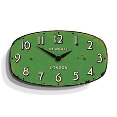 Shop Wall Clock in Antique Green by Newgate Burke Decor