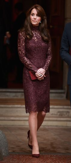 The Duchess of Cambridge's Lace Dress Is Just as Dreamy as Her Gowns. This is probably my second favourite dress that she has worn!!!