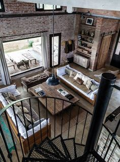 Loft, Industrial, Warehouse, Red brick, ancien dépôt des chemins de fer
