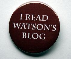 Sherlock BBC Watson's blog