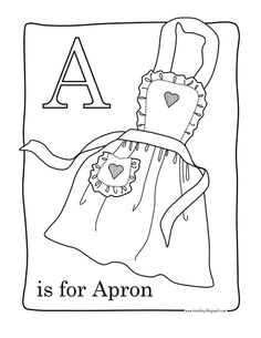 Alphabet Hunt Coloring Pages