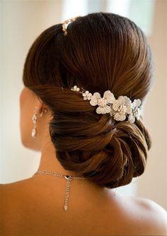 40 chic wedding hair updos for elegant brides elegant bun updo wedding hairstyles hair up