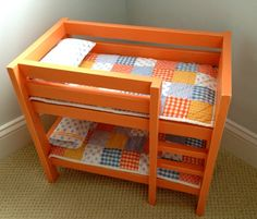 doll bunk beds   Do It Yourself Home Projects from Ana White