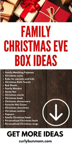 Fun & meaningful Christmas Eve Box Filler Ideas to make Christmas Eve even more exciting. Learn how to make the best Christmas Eve Box for your family and take this opportunity to create even more family Christmas memories this year! #christmasevebox #familychristmasevebox #familychristmaseve #christmasevetraditions #christmasmemories Christmas Eve Box For Adults, Christmas Eve Box For Kids, Xmas Eve Boxes, Christmas Sheets, Christmas Eve Box Fillers, Merry Christmas, Christmas Books, Family Christmas, Christmas Ideas