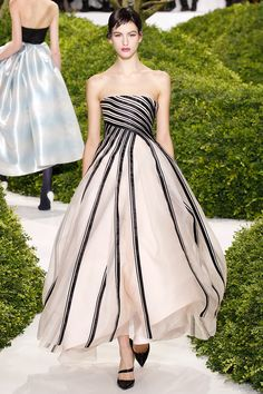 Christian Dior Spring 2013 Couture - Runway Photos - Fashion Week - Runway, Fashion Shows and Collections - Vogue - Vogue Dior Haute Couture, Christian Dior Couture, Style Couture, Couture Fashion, Paris Fashion, Christian Siriano, Runway Fashion, Beautiful Gowns, Beautiful Outfits
