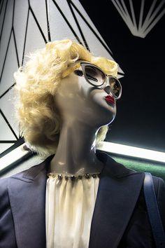 ELITE Woman shop windows. Zoom in: Alexander McQueen sunglasses, Lanvin top, Emilio Pucci blazer http://www.elitestore.es/women.html