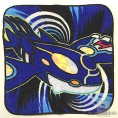 Pokemon Center 2014 Primal Kyogre Mini Hand Towel
