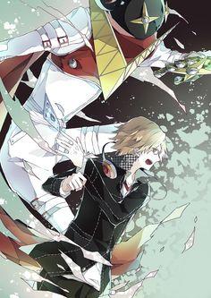 Yosuke Hanamura and Jiraiya, Persona 4