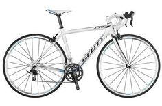 Personal favorite! Scott Contessa CR1 Comp 2013 Women's Road Bike.