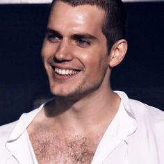 """Henry Cavill about his chest hair:  """"I gotta say the whole waxing thing has its advantages in that you end up looking more defined, but it is extremely excruciating.So I like my hairy chest. I plan on keeping it."""""""