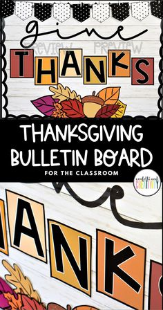 Encourage your students to cultivate the mindset of thankfulness with 2 beautiful bulletin displays for your classroom! This bulletin board kit is so easy to set up and can be used for many years to come! Perfect for your preschool, kindergarten, and elementary classroom! Thanksgiving bulletin boards for school. Fall bulletin boards. #classroomdecorations #thanksgivingbulletinboard #thanksgivingclassroomdecor #bulletinboardideas High School Classroom, Classroom Walls, Classroom Design, Classroom Decor, Holiday Bulletin Boards, Thanksgiving Bulletin Boards, Bulletin Board Display, Class Room, Preschool Kindergarten