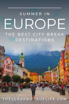 There are some beautiful places to visit in Europe, + what better time to go than in the summer? Full of bustling cities and quieter ones with quaint Old Town quarters, there is something to suit everyone! And here are 13 of the best city breaks in Europe fit for any travel bucket list, including some real hidden gems! // European summer // Europe travel destinations // Summer bucket list // Dream vacations // Dream places to visit // Eastern Europe travel // Europe travel guide // #EuropeTravel Summer Europe, Europe Holidays, European Summer, Summer Travel, European Travel, Travelling Europe, Europe Travel Guide, Budget Travel, Traveling