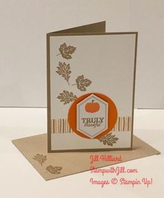 This months Paper Pumpkin kits were test tubes with various tags. Here is what I made instead: A Crumb Cake Note card: A Double ...
