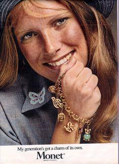 Monet Jewellery // 1970s advertisement