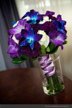 Aqua, Blue, Teal | Image 10 | Aqua, Blue, Teal | Weddding Bouquets & Bouts | Winnipeg Wedding Flowers