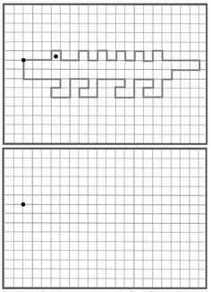 Fun drawing / follow instructions for kids
