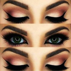 makeup eyes and beauty image