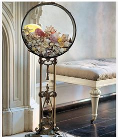 Really cool vintage aquarium!  Click on this pic to see a few more!