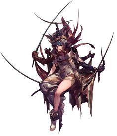 Asura from Final Fantasy Dimensions II #illustration #artwork #gaming #videogames #gamer