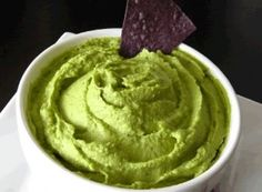 Hummus but avocado instead of chick peas.