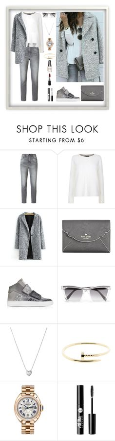 """""""Untitled #161"""" by rita-tahchi ❤ liked on Polyvore featuring Golden Goose, Tommy Hilfiger, Kate Spade, MM6 Maison Margiela, Prism, Links of London, Cartier, Morgan Taylor, Charlotte Russe and MAC Cosmetics"""
