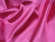 Hot Pink Poly Satin linen from Premiere Party Central - Your Wedding and Event Rental Specialists, located in Austin, TX!