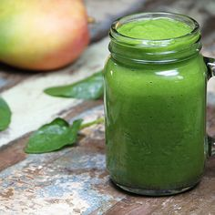 Green endless summer smoothie. This was my breakfast for today  can't get enough of it! Try it and let me know what you think, have a lovely healthy day. (Serves 2)  Ingredients: 2 cups spinach, 1 cup mango, 1 cup pineapple, 2 bananas, 1cup water (optional) for instructions and tips for this recipe visit my facebook page https://m.facebook.com/TheCruco?ref