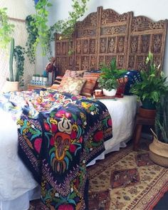 65 Incredible DIY Boho Chic Bedroom Decor Ideas - Bohemian Home İdeas Bohemian Bedroom Diy, Bohemian Style Bedrooms, Home Design, Interior Design, Design Ideas, Modern Design, My New Room, Master Bedroom, Modern Bedroom