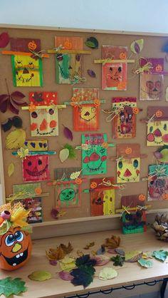 Fall Arts And Crafts, Autumn Crafts, Autumn Art, Autumn Theme, Holiday Crafts, Elementary Art Rooms, Art Lessons Elementary, Kindergarten Art Lessons, First Grade Art